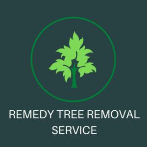 REMEDY TREE REMOVAL SERVICE LOGO